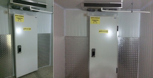 Маргус, холодильные камеры