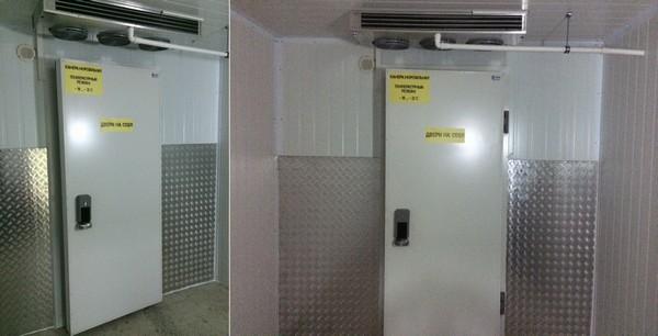 маргус, холодильне обладнання, холодильні камери
