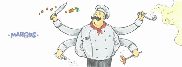 Промислова плита, Професійна плита, маргус