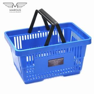 Покупательские корзины для супермаркета PLAST 22 Blue