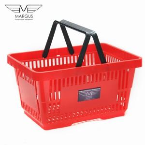 Покупательские корзины для супермаркета PLAST 22 Red
