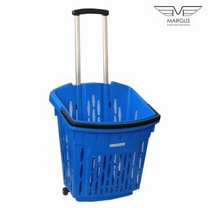 Покупательские корзины с колесами PLAST 38