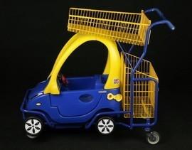 Візок для супермаркету - дитяча машинка YRD-E4
