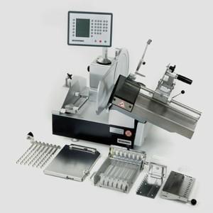 Автоматический промышленный слайсер вертикальный BIZERBA A 404 FB (с транспортером)