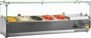 Вітрина холодильна TEFCOLD настільна VK33-120