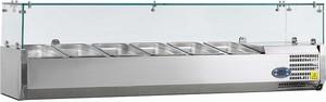Вітрина холодильна TEFCOLD настільна VK33-160