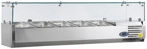 Вітрина холодильна TEFCOLD настільна VK38-120