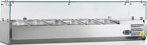 Настольная холодильная витрина TEFCOLD VK33-180