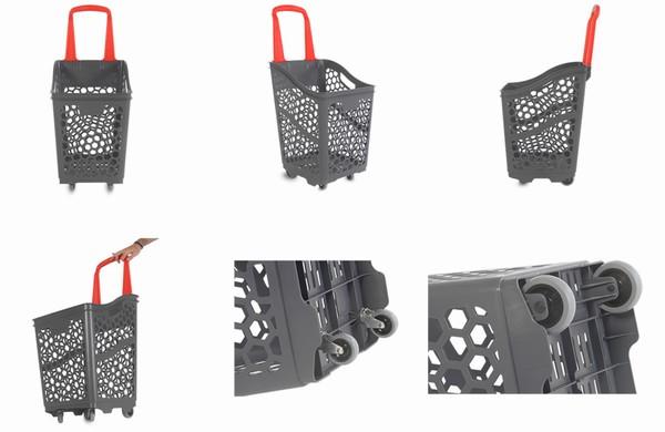 Пластикова корзина-візок - B65 Smooth Basket