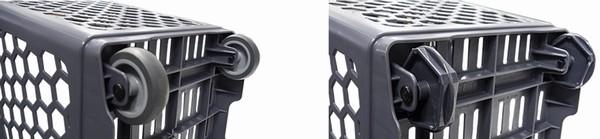 Пластиковая корзина-тележка — B65 Smooth Basket