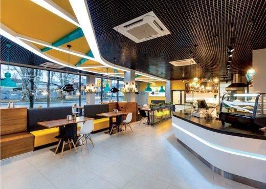 Професійне обладнання кафе, магазинів, бістро і піцерій при АЗС.