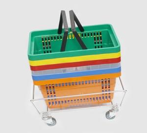 Купить корзинки и тележки покупательские - недорого!