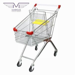 Тележки покупательские -  швейцар супермаркета.