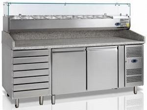 Стіл холодильний для піци Tefcold РТ1310