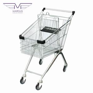 Тележка для супермаркета на 60 литров