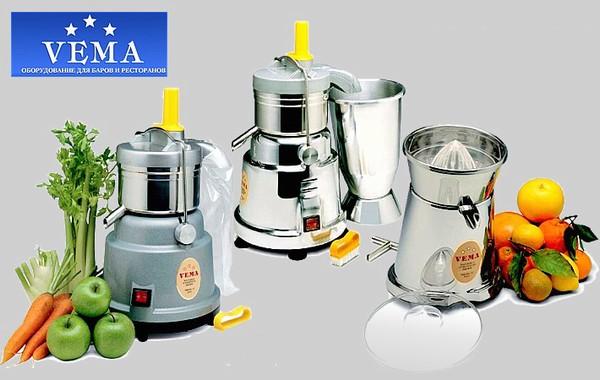 Качественное оборудование Vema из Италии