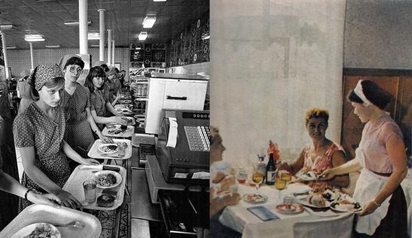 Розвиток громадського харчування в післявоєнний період