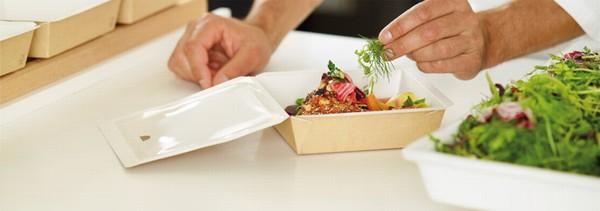 Еда на вынос в ресторане большой плюс вашему заведению