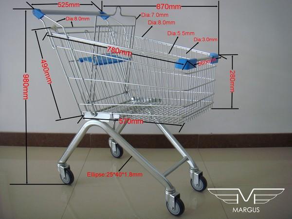 Тележки покупательские (тележки для супермаркета), Vol 2.0