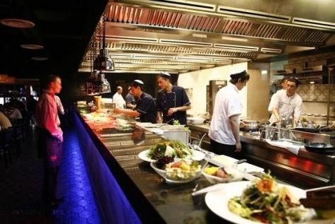 Открытая кухня ресторана – улучшает качество труда