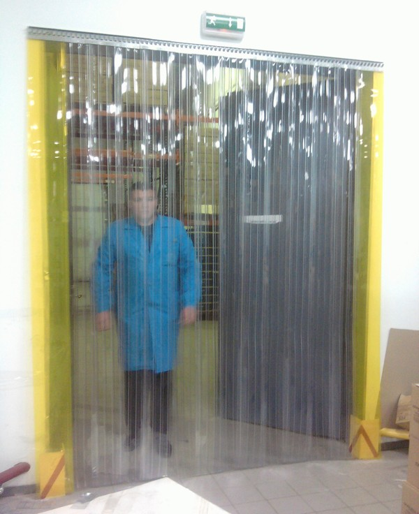 Стрічкові ПВХ штори (-18…-22С), МАРГУС