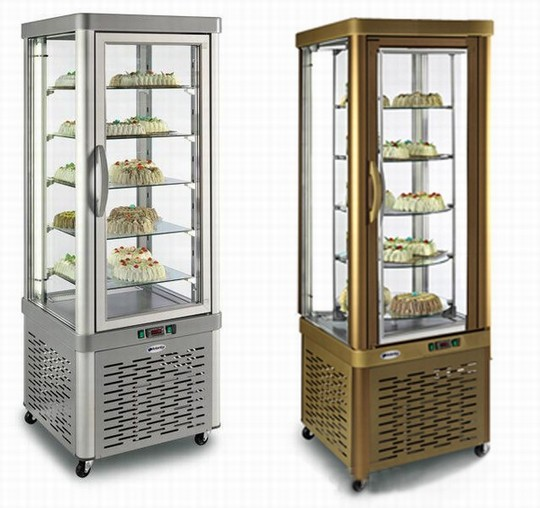 витрина холдильная SILFER VE 35 TNR, витрина холдильная  SILFER VE 35 TNR BRONZE