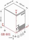 Льдогенератор Brema GB 601 Маргус